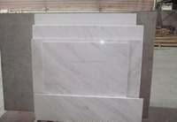 Sichuan Baoxing floor tile natural Bianco carrara white marble