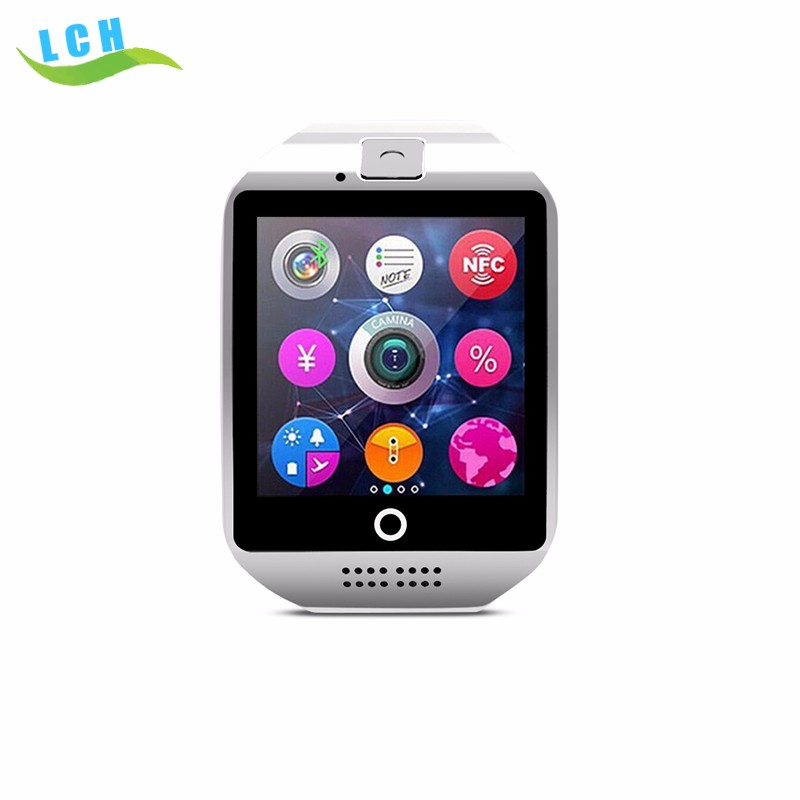 2016 Hot Selling Bluetooth Smartwatch Q18 Android Smart Watch with SIM Card and Camera Mobile Watch Phones DZ09 smart watch