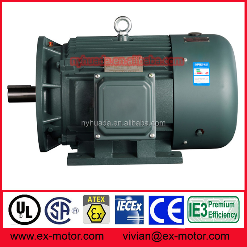 3 phase ac sealed electric motor