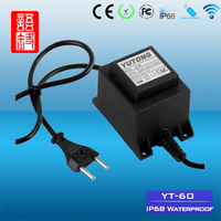 IP68 Safety Waterproof Swimming Pool Light Transformer