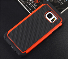 Football Pattern Soft Silicon TPU Case Back Hard PC Cover Hybrid Armor For Samsung Galaxy s3mini i8190 Cell phone