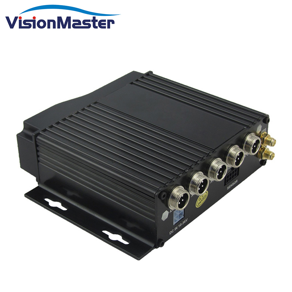 Mdvr China Supplier <strong>4</strong> <strong>Channel</strong> Hd Vga 720p 3g 12v Cctv System Ahd Sd Card Car <strong>Dvr</strong>
