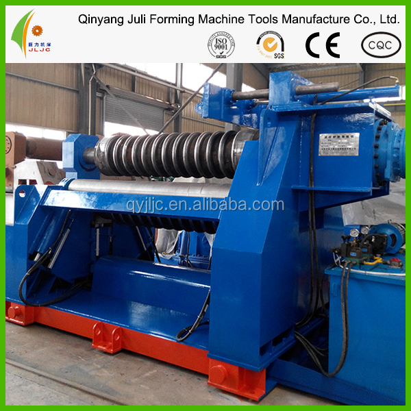 Corrugated furance 4-roller bending machine ,metal roller ,plate bender