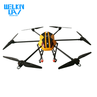 WELKIN1810 New Arrival Waterproof Sophisticated Agricultural Spraying Drone