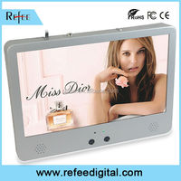 Network high resolution digital advertising board, 15.6 inch LCD information displays
