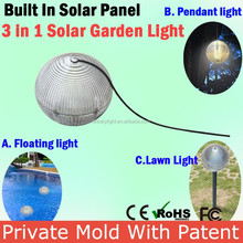 12V Super Bright Cheap Price Outdoor Solar Led Light Solar Panel