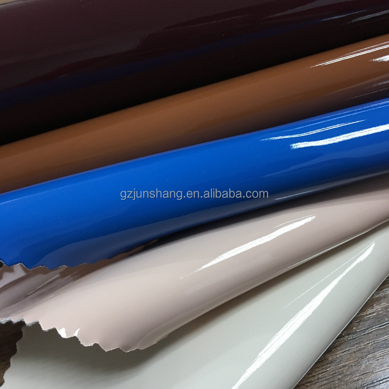 PU patent leather raw material for bags in GuangZhou raw material market