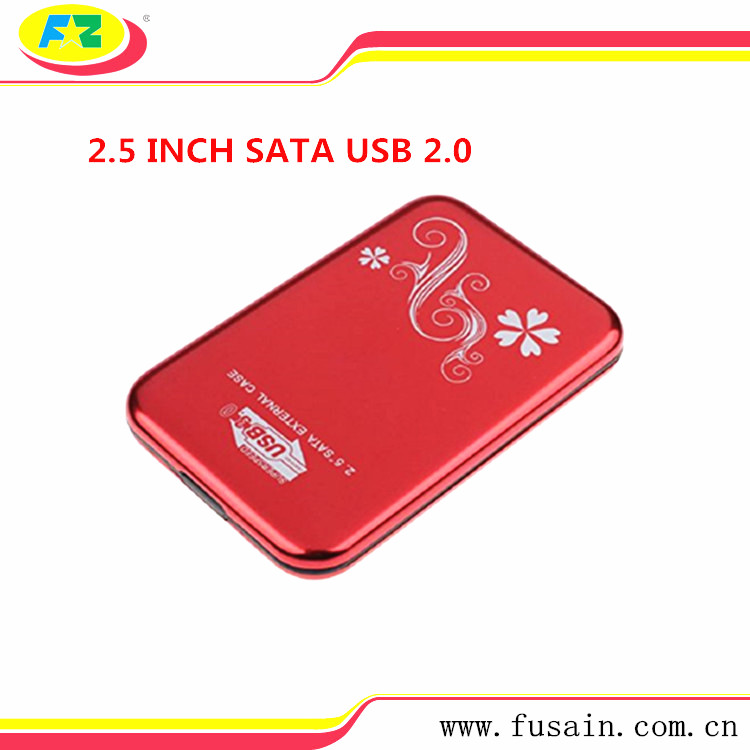 USB 3.0 SATA Hard Disk Case 2.5 External HDD Box Aluminum HDD Enclosure