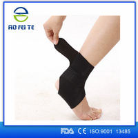 2015 new products sports injury support elastic ankle guard with strap AFT-H006
