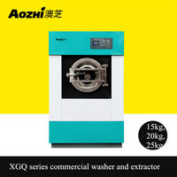 Free shipping 50lbs commercial washer automatic washing machine laundry equipment