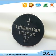 Limno2 Cr1620 3v Button Cell Non-rechargeable Backup Battery