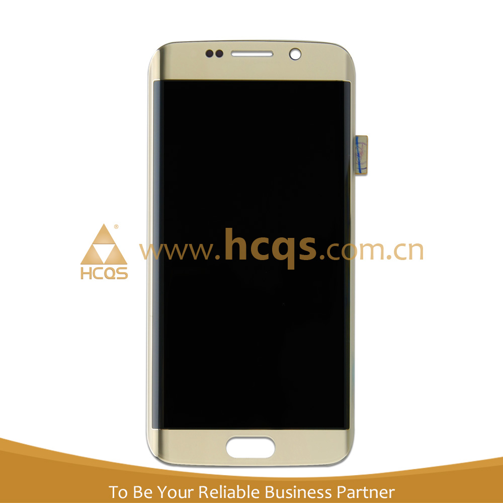 HCQS Factory Wholesale Ecran for S6 edge LCD Screen assembly