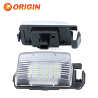 2014 Hot Selling Easy Plug and Play 18 SMD LED License Plate Light for N.issan