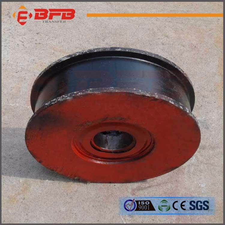 Heavy industrial railway steel bogie wheels for south africa market
