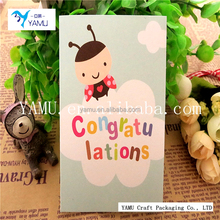 Thank you, thank you greeting card wholesale factory direct blessing greeting card cute cartoon picture postcards