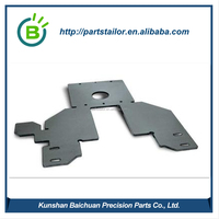 High quality sand blasting metal sheet fabrication