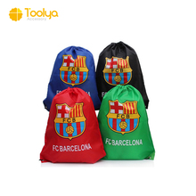 High Quality FC Barcelona GYM Sack Bag Drawstring Backpack Bag