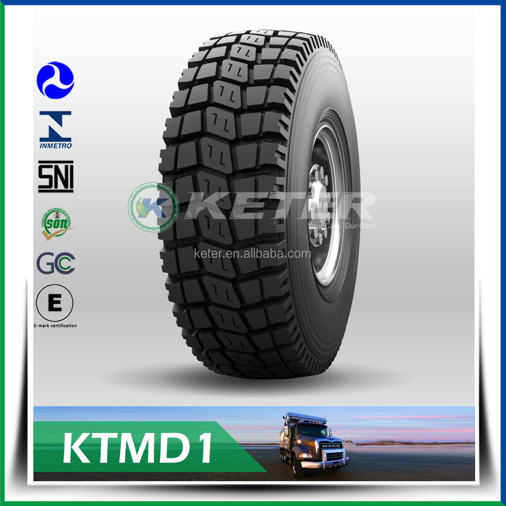 heavy duty 365/80r20 military truck tire