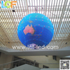 New products of 360 degree sphere display in led Market on2015 visual effect Programmable message advertising P4,P5,P6.