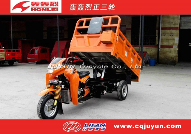 air cooling engine Hydraulic Lifter Tricycle/Three Wheel Motorcycle made in China HL200ZH-A15