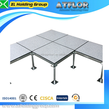 HPL steel panel/fireproof adjustable pedestal/anti abrasion/shockproof/vinyl/anti static raised floor