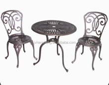 Hot Sell Outdoor Waterproof cast aluminum garden furniture white