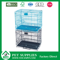 large steel dog cages