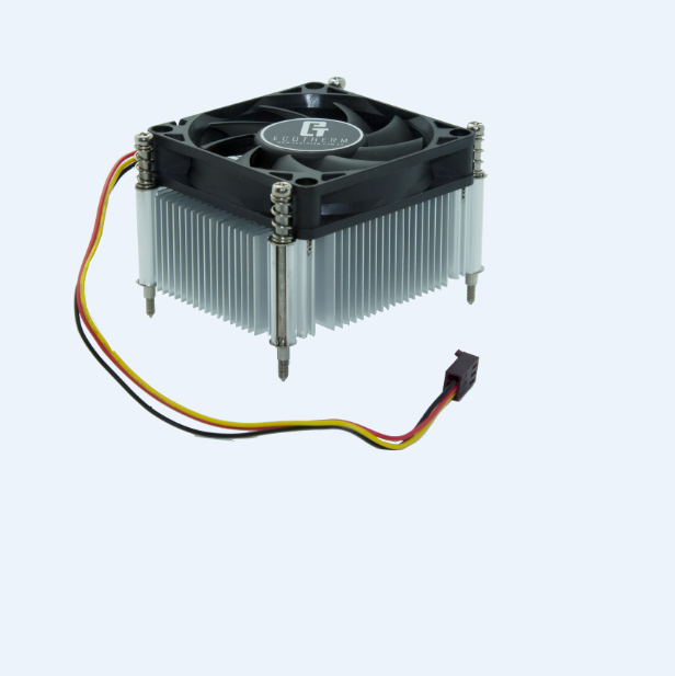 new products customized 1155/1156 intel 4 pin cpu cooler fan 70mm from Chinese supplier