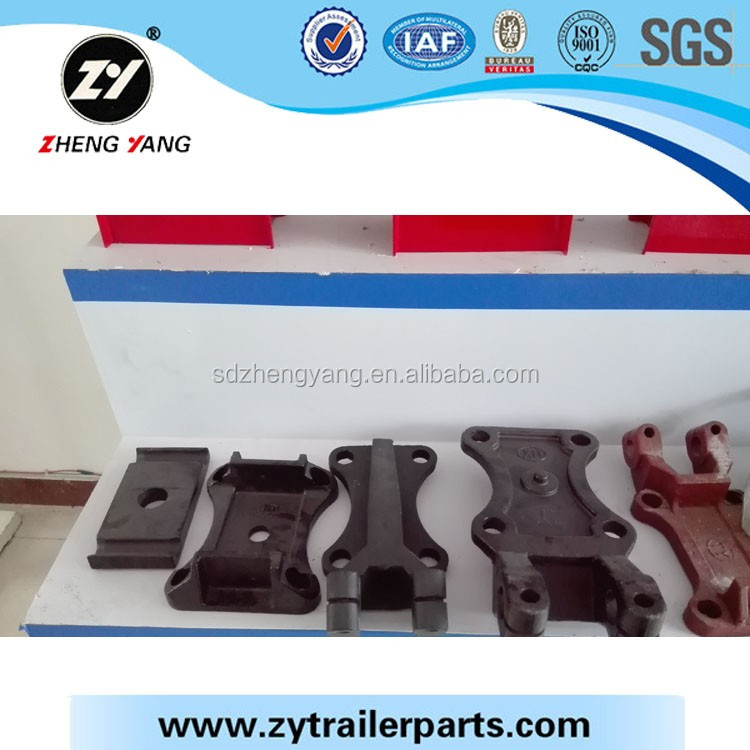 ZY factory flagship product trailer suspension parts torque arm/hanger/leaf spring