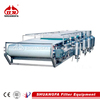 SF vacuum belt filter - sludge dewatering equipment with best quality control system