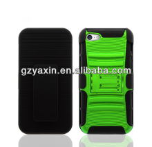 super holster cell phone case with stand and belt clip for apple iphone 5c;smart cover case for iphone 5 c