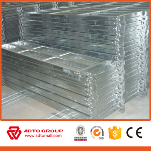 China supplier galvanized scaffold catwalk, superior quality high standard wholesale scaffold steel plank with hook