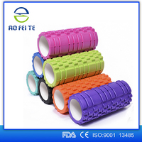 Fitness Muscle EVA 5.5''*13'' and 5.5''*17.7'' yoga roller Customized logo foam roller by Aofeite