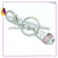 2013 new design shoe keyring