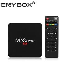 MXQ Pro Android 6.0 TV Box Quad Core OTT TV Box Amlogic S905X Media Player HD 4K 2.4Ghz WiFi Set Top TV Box