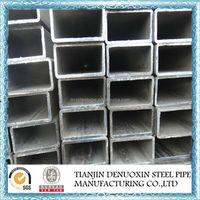 "1/2""-4"" inch ERW galvanized square steel pipes for agricultural greenhouse"