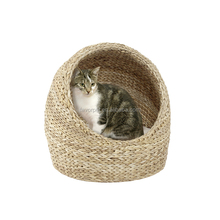 Hot wholesale cat bed cave ,round cat bed