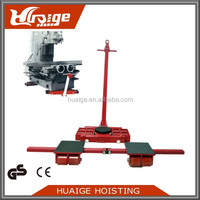 15 ton transport trolley PU wheel equipment moving skates