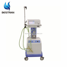 BT-NLF200A medical used O2 and Compressed Air high performance bubble newborn cpap ventilator prices