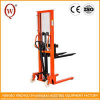 Customize Superior Hydraulic Manual Pallet Stacker/Manual Drum Lifter