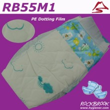 Top Supplier OEM Brand Grade A Quality Disposable High Quality Colorful Baby Diaper Manufacturer from China