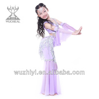 Belly Dance Kids Costumes, Lovely Popular Belly Dance Wear,Belly Dance Children Performance Dress (QC2123)