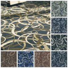 Customized Modular Carpet Tiles with Rubber Backing