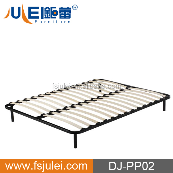 European Style Wooden Flat Bed Frame