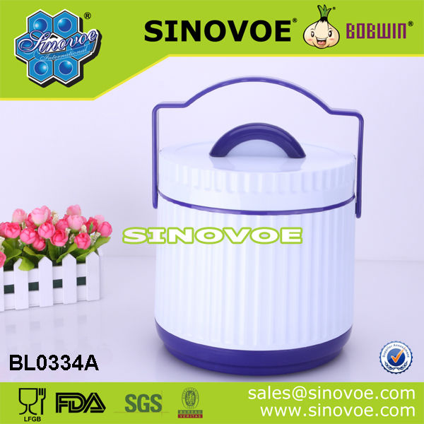 Plastic Food vacuum container with handle
