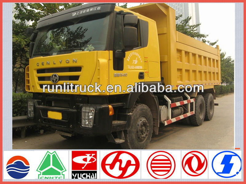 New Iveco genlyon 6*4 dump truck with low price for tipper truck