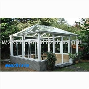 outdoor aluminum sunlight glass room
