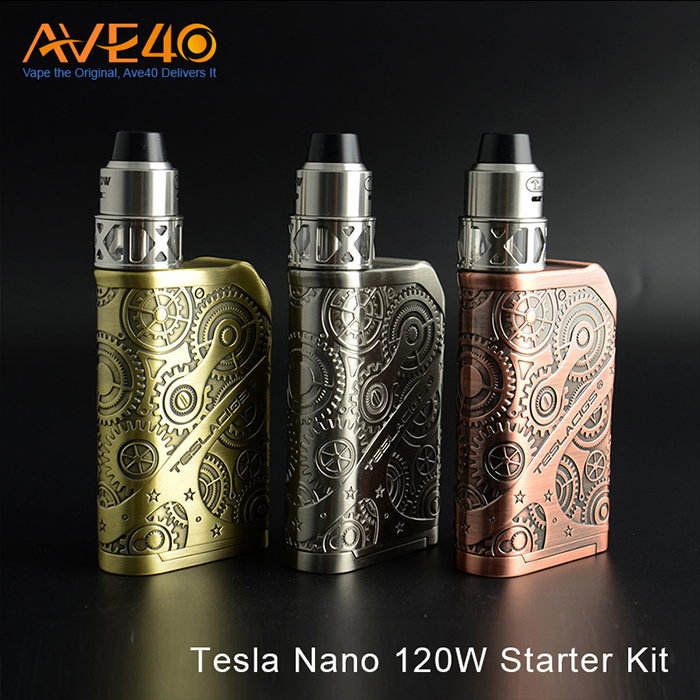 Cloud Beast Kit in 2017 New Released Tesla Nano 120w Box Mod