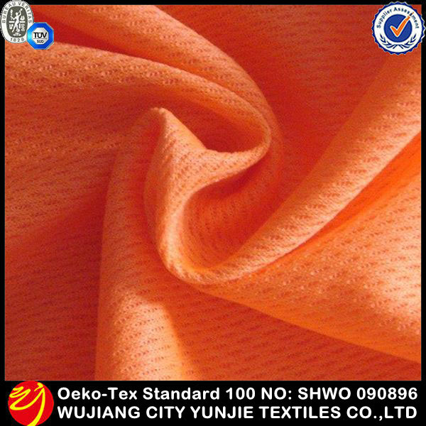 2014 new fashionable 100% polyester mesh fabric for clothing