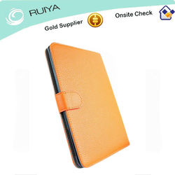 Stylish leather case for ipad case 3, for ipad case 4 high quality